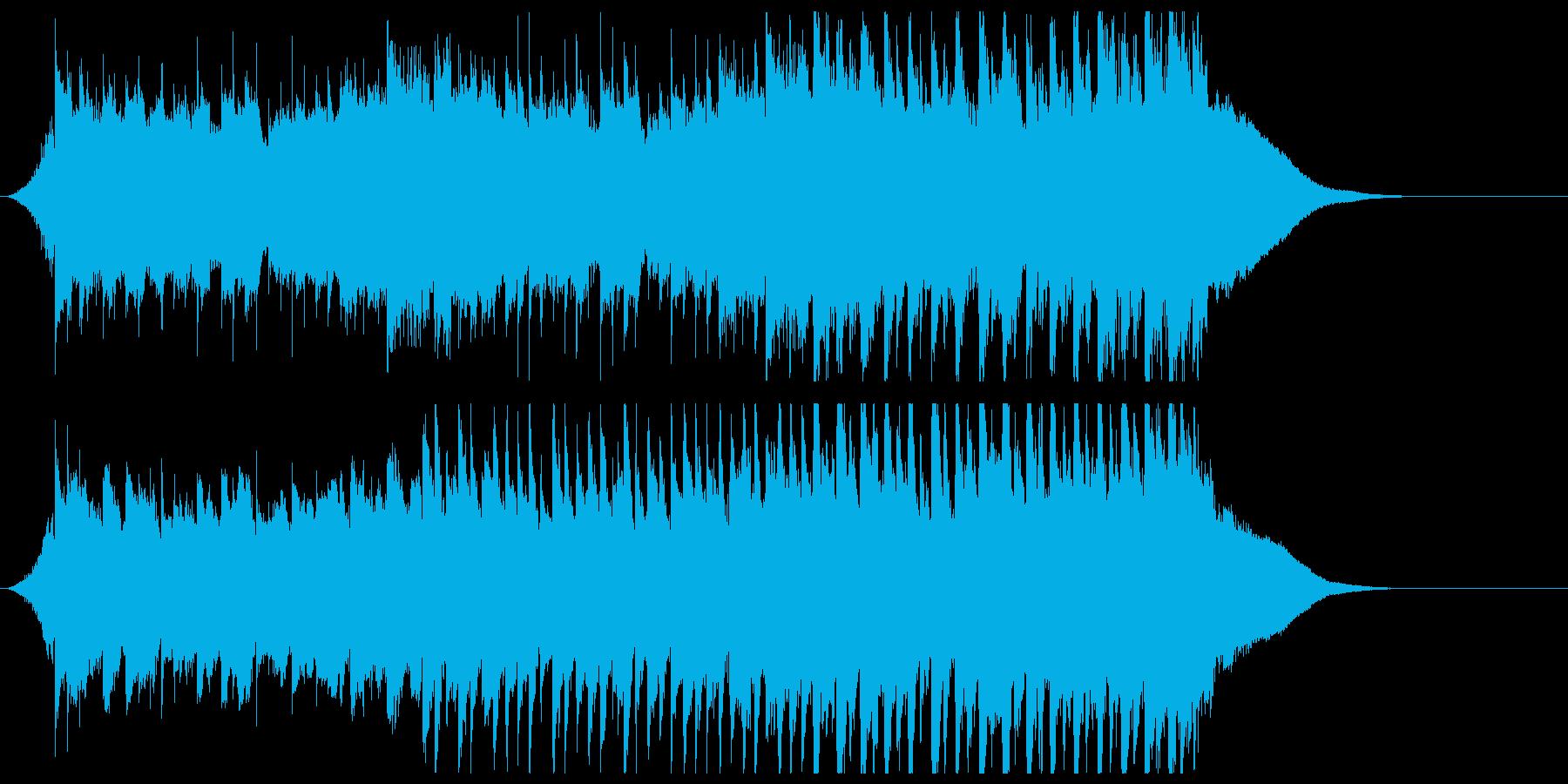企業VP系ジングル ピアノで気分高まるの再生済みの波形