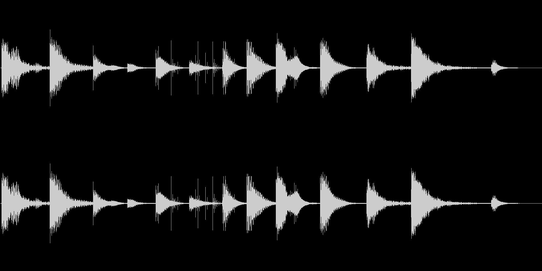 ヒーリングエネルギーを秘めた444Hzの未再生の波形