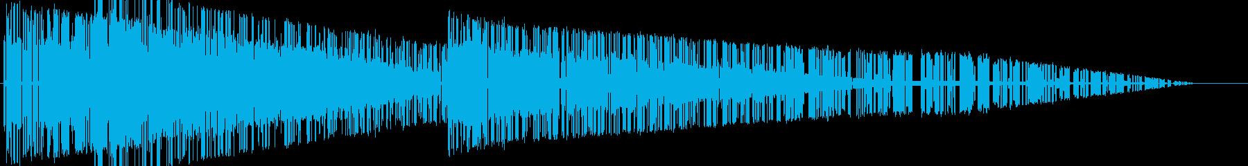 レトロゲーム風魔法・地属性・土系2の再生済みの波形