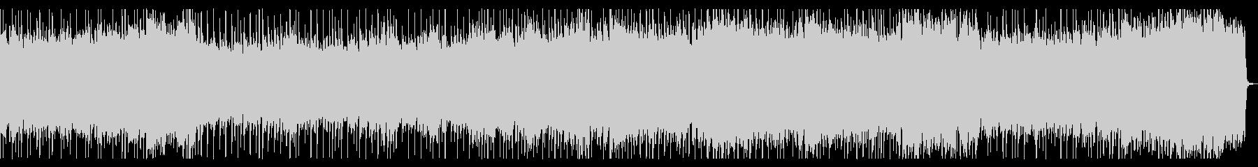 ポップでファンタジックなメタルBGMの未再生の波形