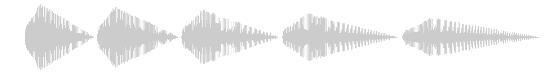SNES-アクション01-13(倒す)の未再生の波形
