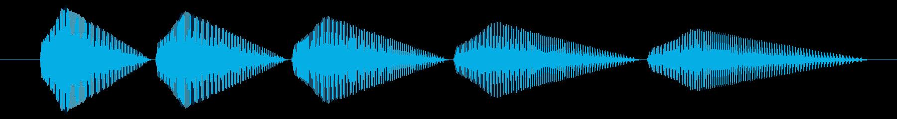 SNES-アクション01-13(倒す)の再生済みの波形