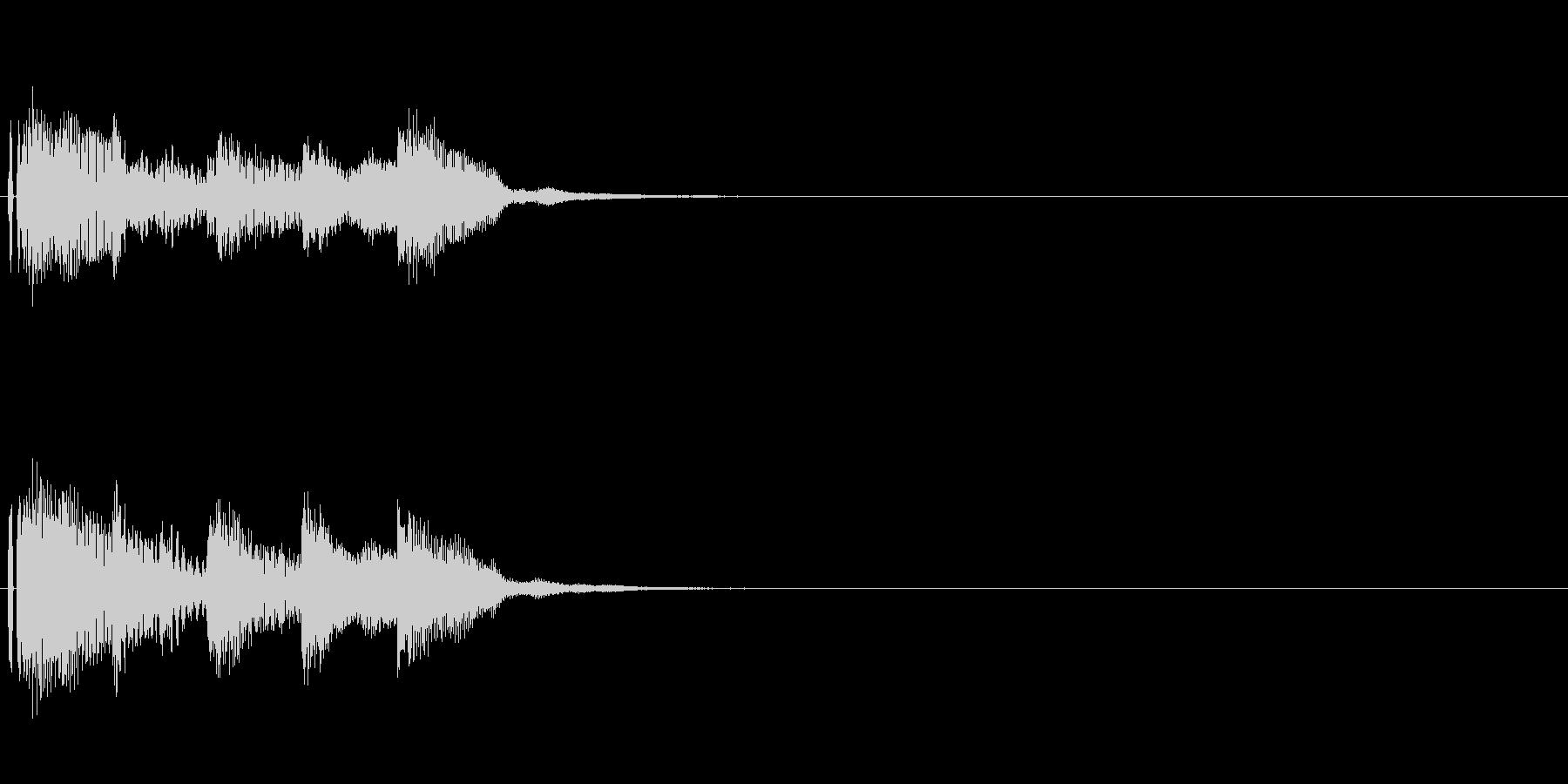 オープニング用ジングル100/ショートの未再生の波形
