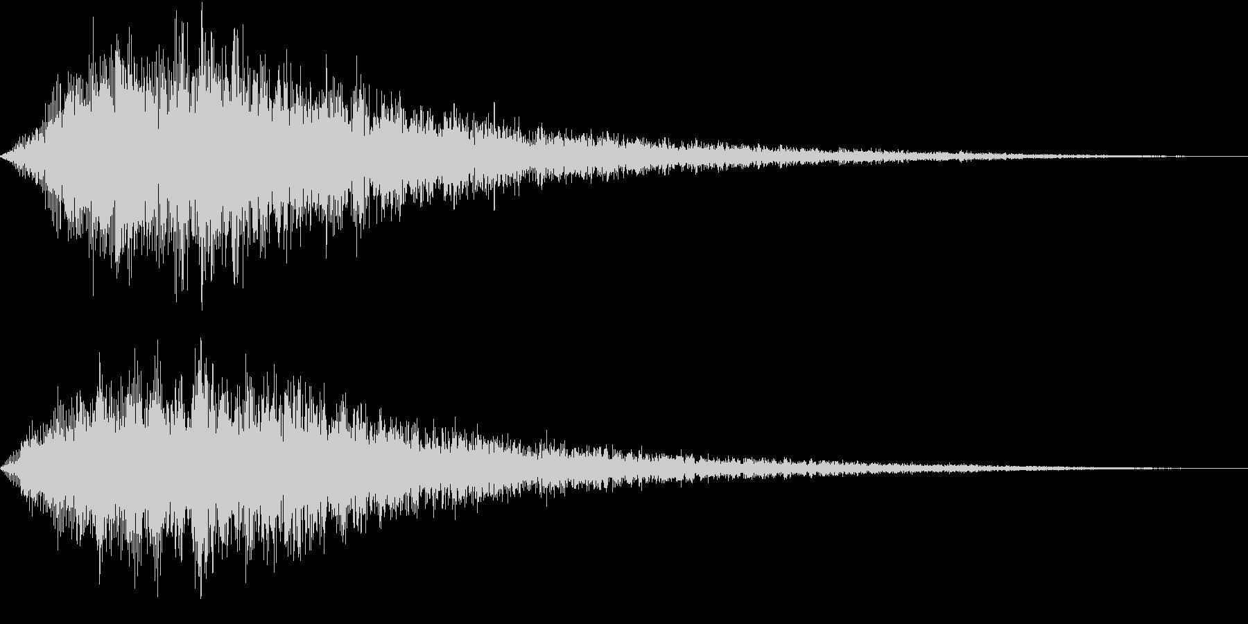VOX ダーティーなコーラスPAD 3の未再生の波形