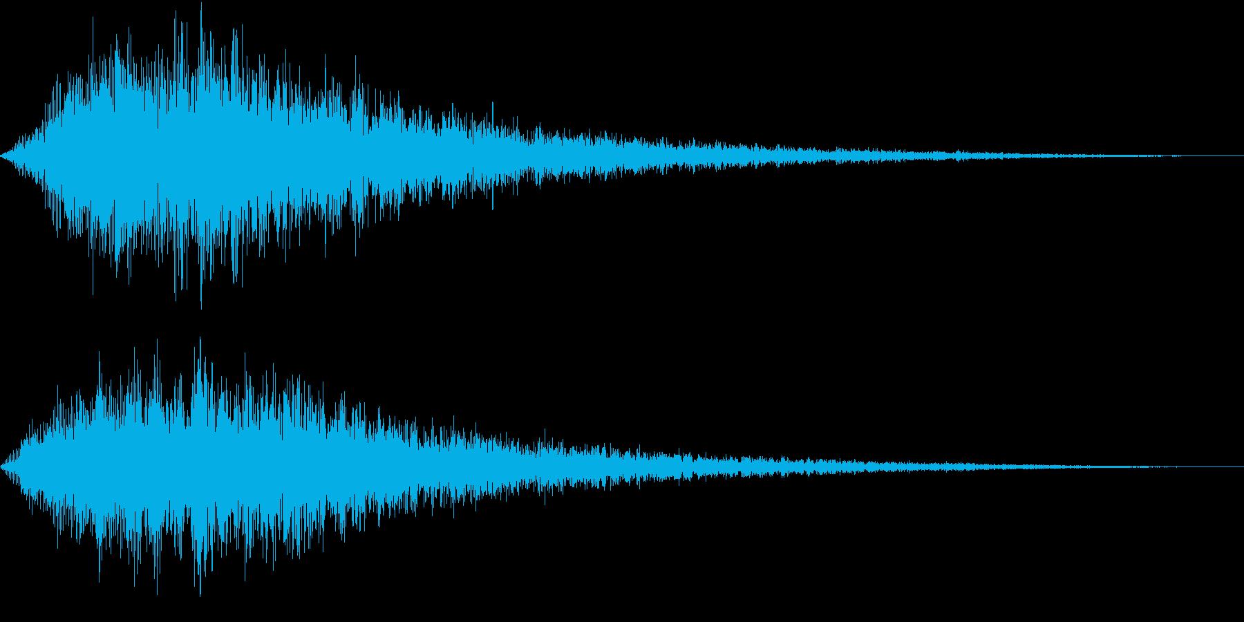 VOX ダーティーなコーラスPAD 3の再生済みの波形
