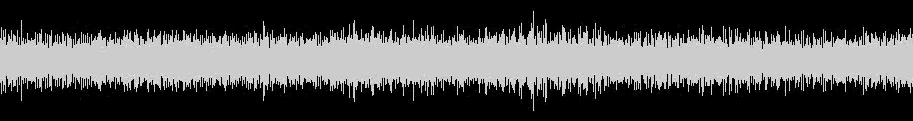 ダンプカーのアイドリングの未再生の波形