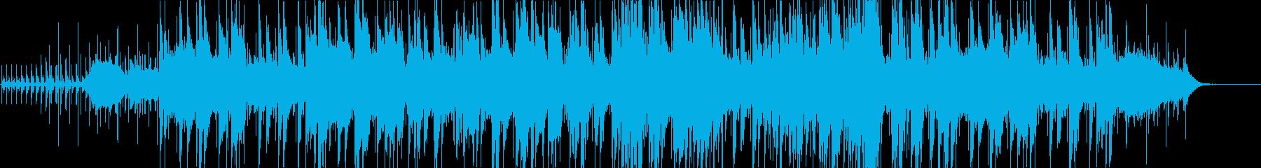 あやしい大人の雰囲気と緊張感のあるジャズの再生済みの波形