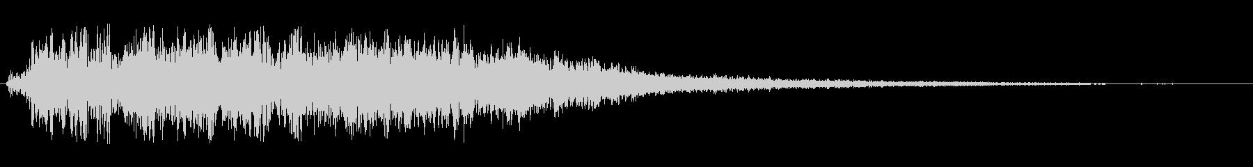 シャララ系アップ(かわいい)の未再生の波形