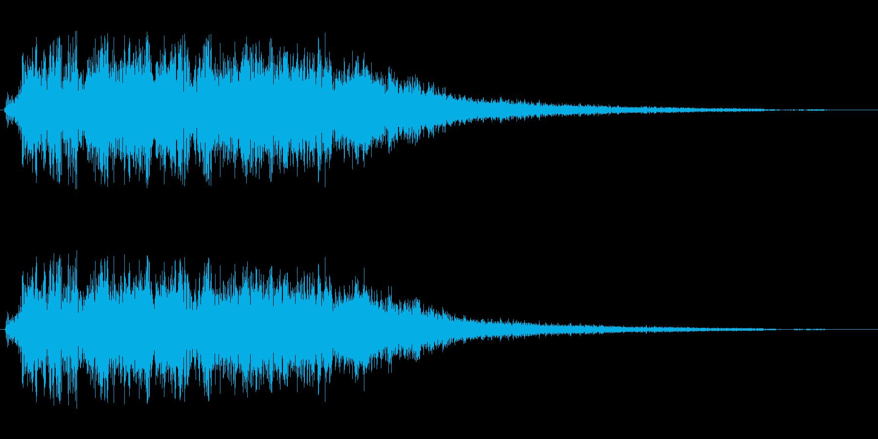 シャララ系アップ(かわいい)の再生済みの波形