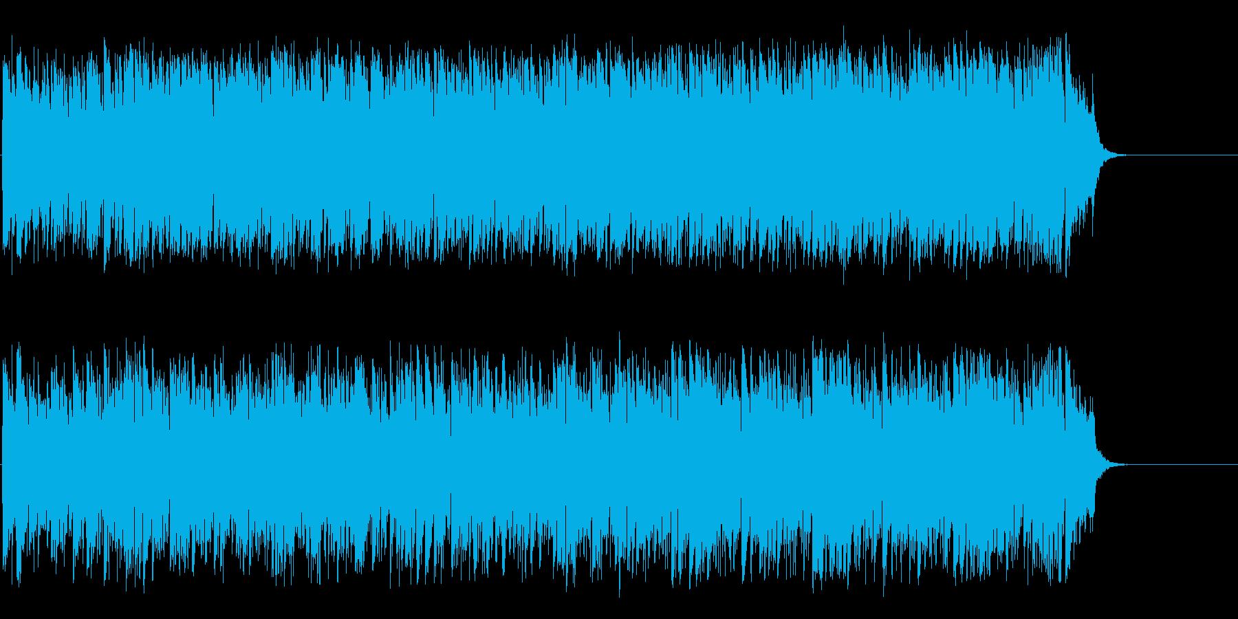 爽やかで軽快な洒落たポップ・フュージョンの再生済みの波形