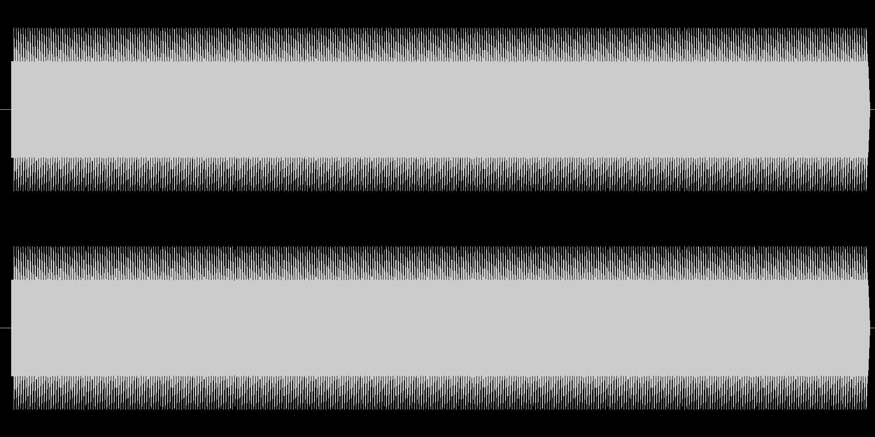鉄道サウンド 駅発車ベル タイプAの未再生の波形