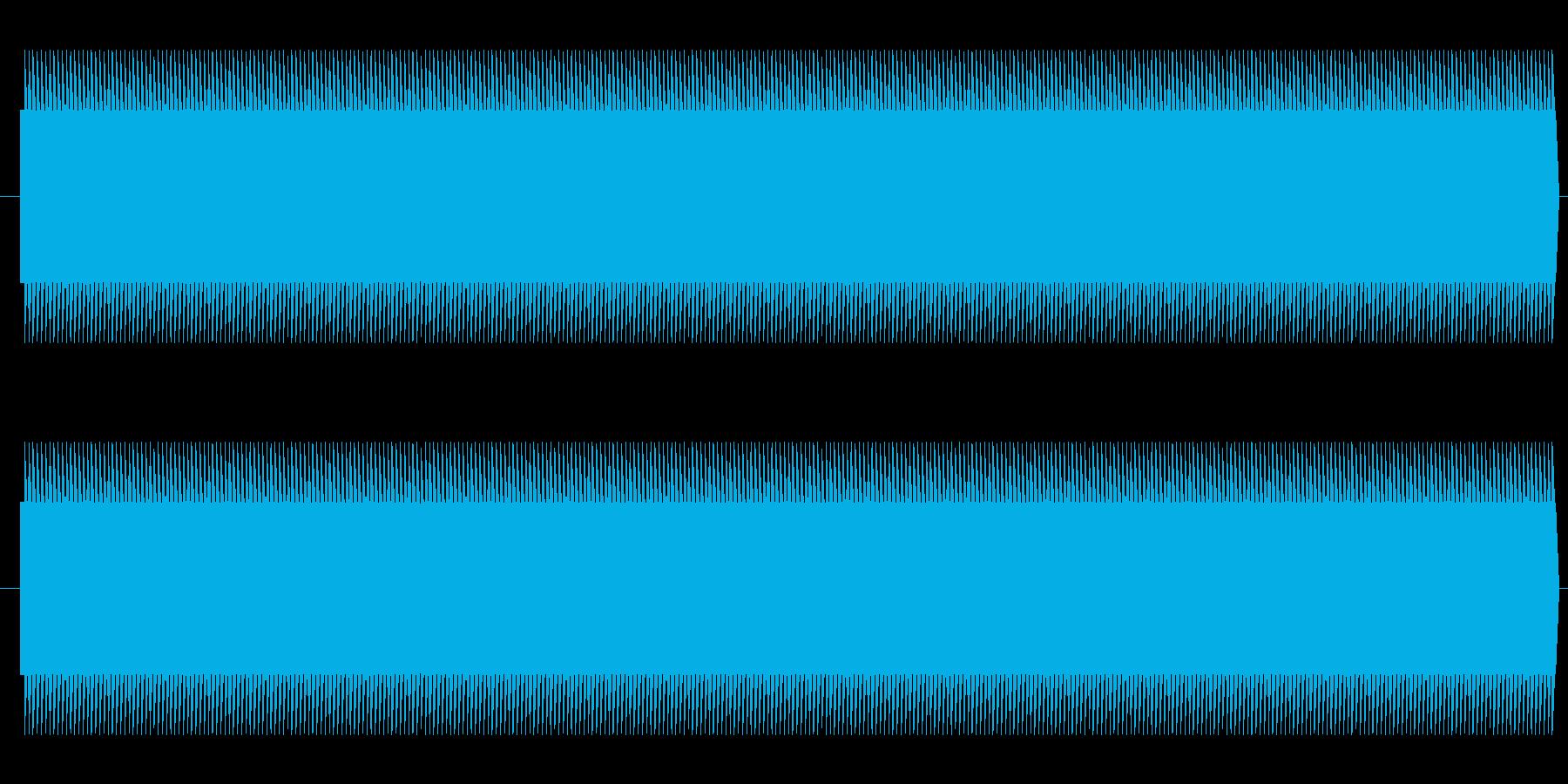 鉄道サウンド 駅発車ベル タイプAの再生済みの波形
