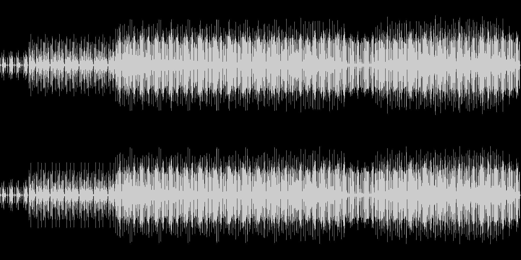 奇麗な感じのbreakbeats の未再生の波形