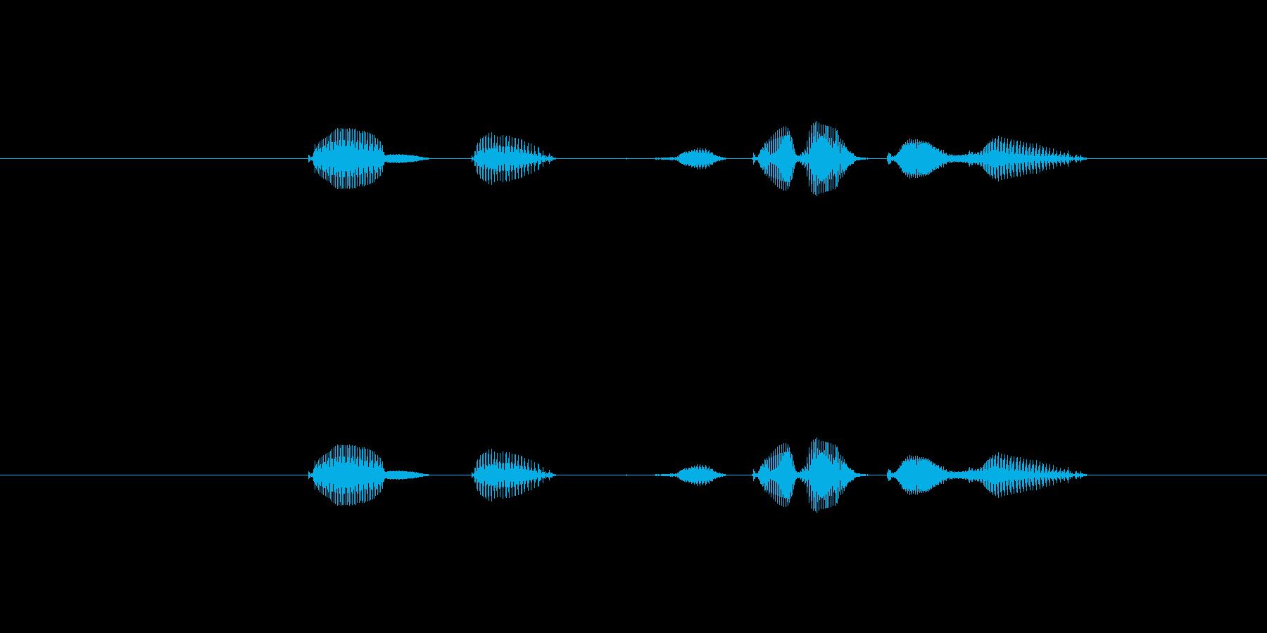 テンポ、160の再生済みの波形