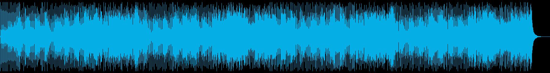 万能選手のブラスポップの再生済みの波形