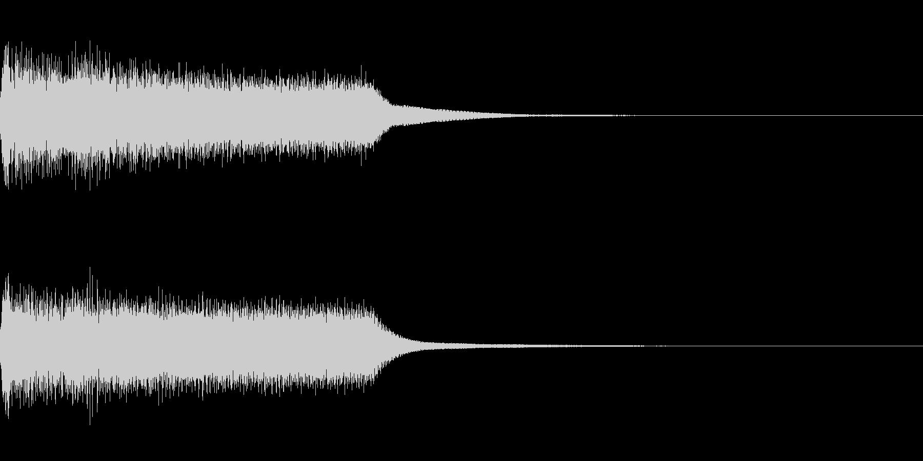 効果音 テロップ 最悪 不正解 ガーンの未再生の波形