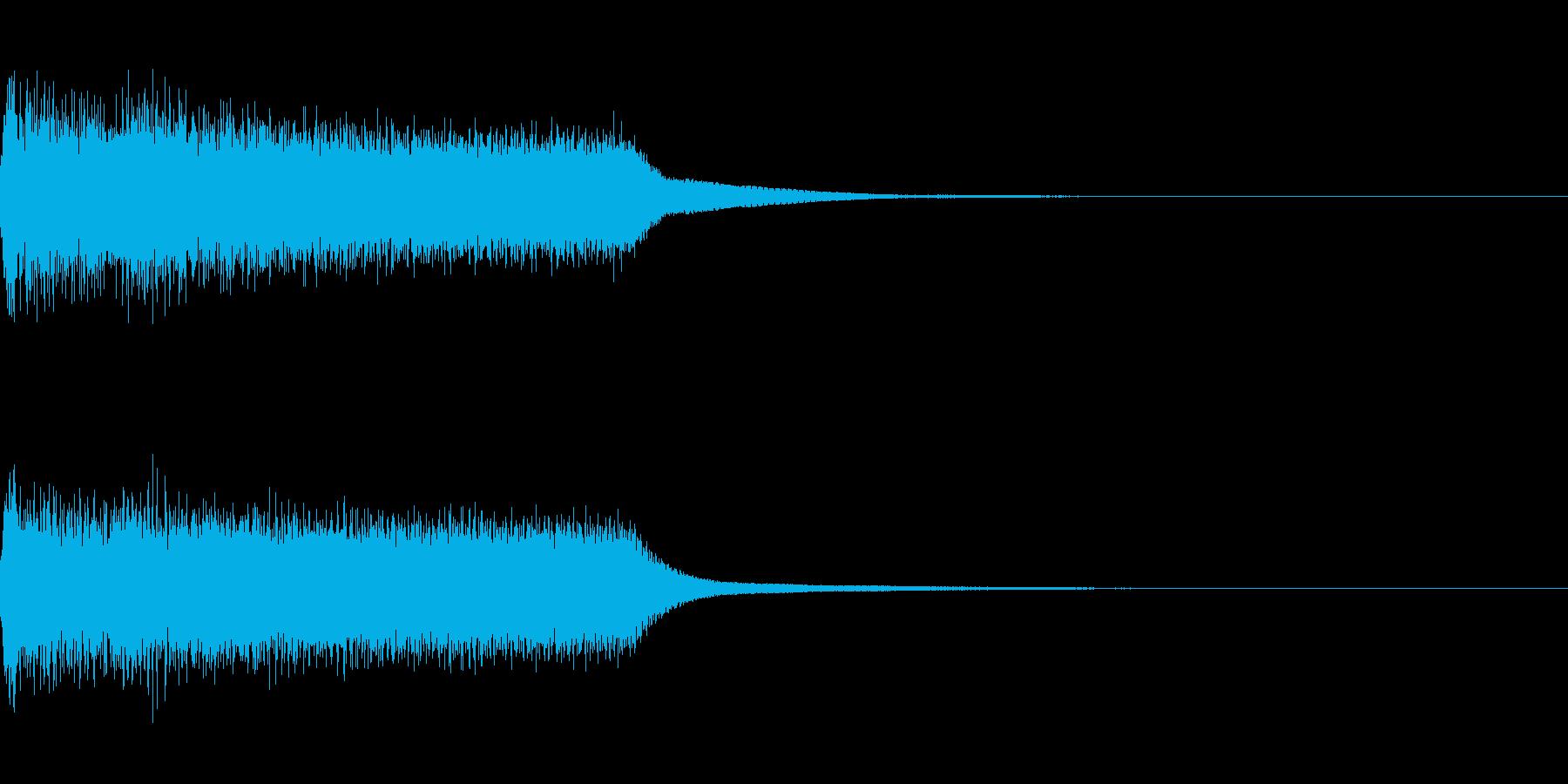 効果音 テロップ 最悪 不正解 ガーンの再生済みの波形
