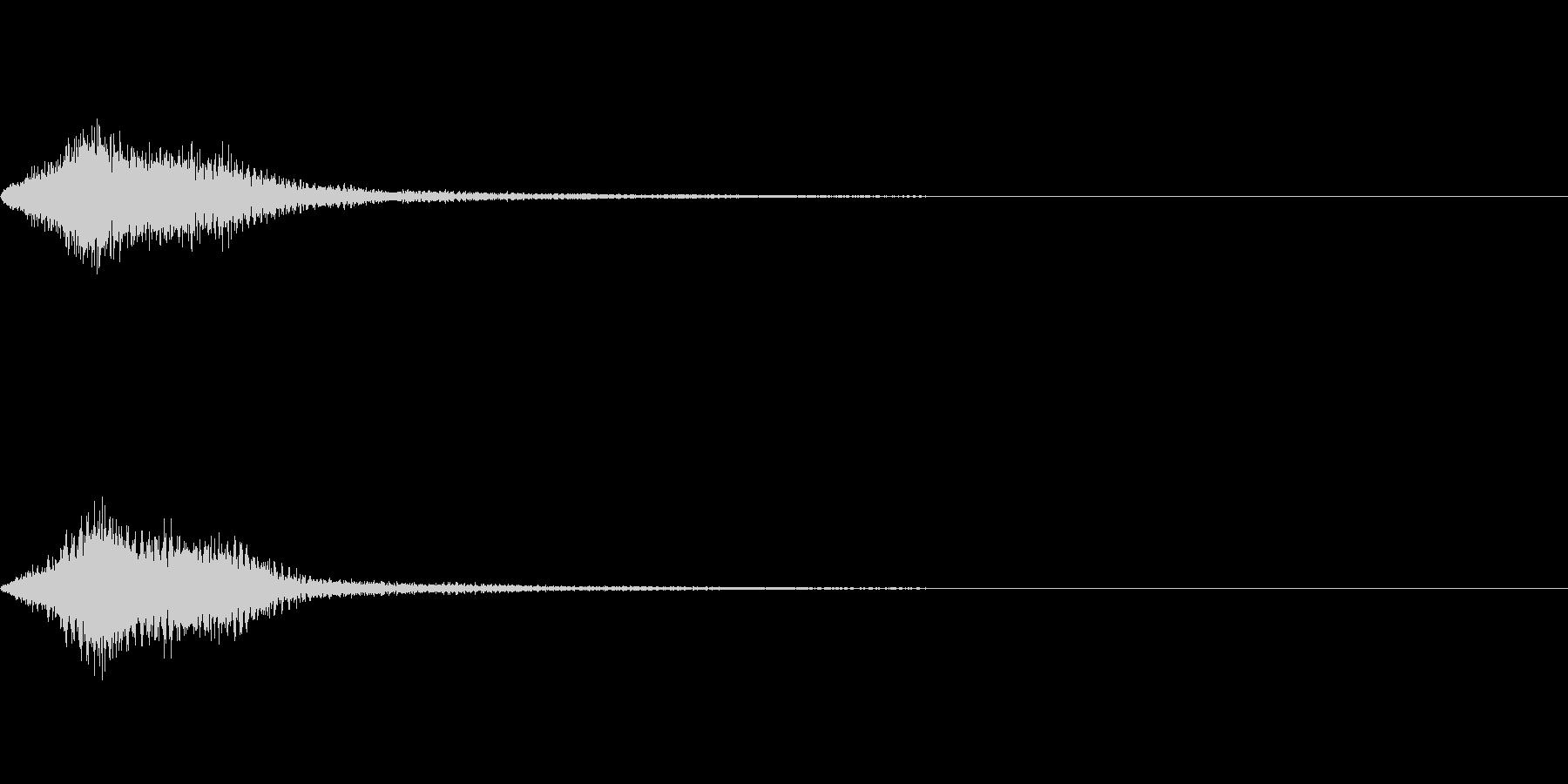 効果音 ホラー その2の未再生の波形