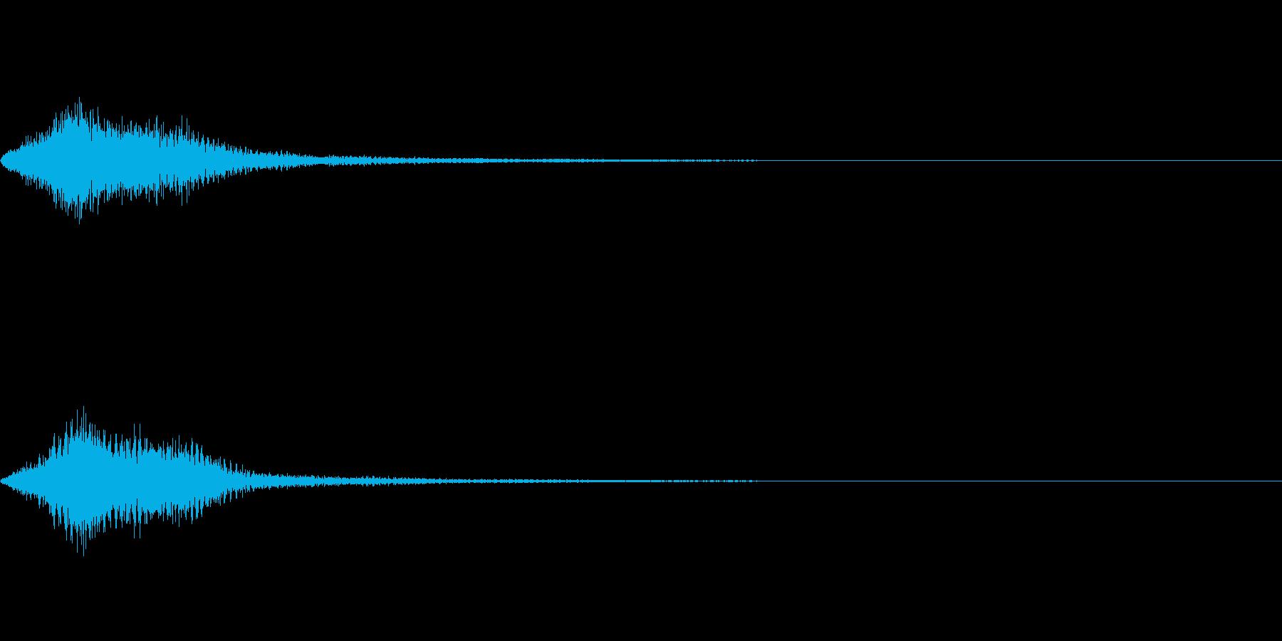 効果音 ホラー その2の再生済みの波形