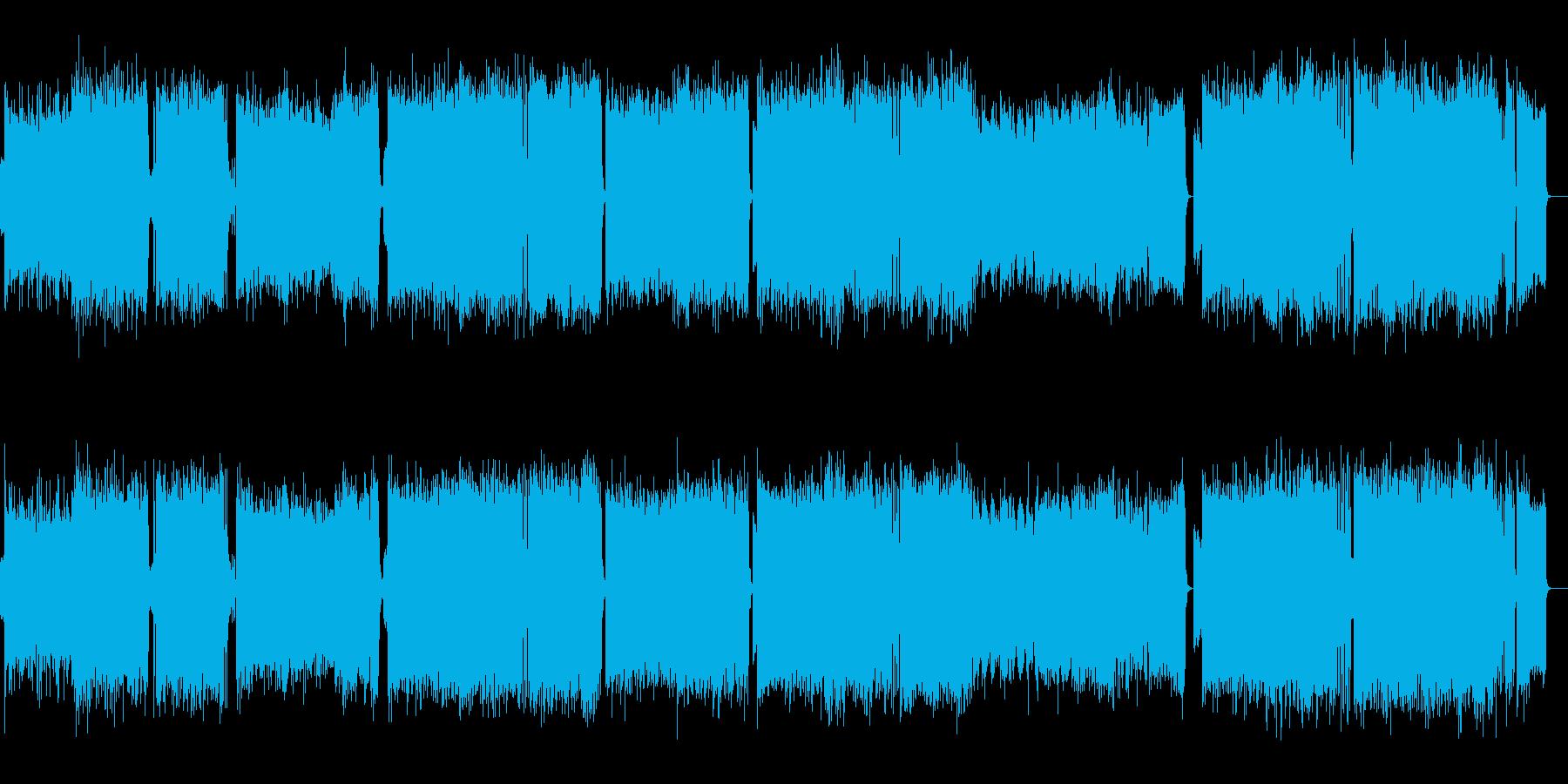 木星_イケイケなユーロビートアレンジの再生済みの波形