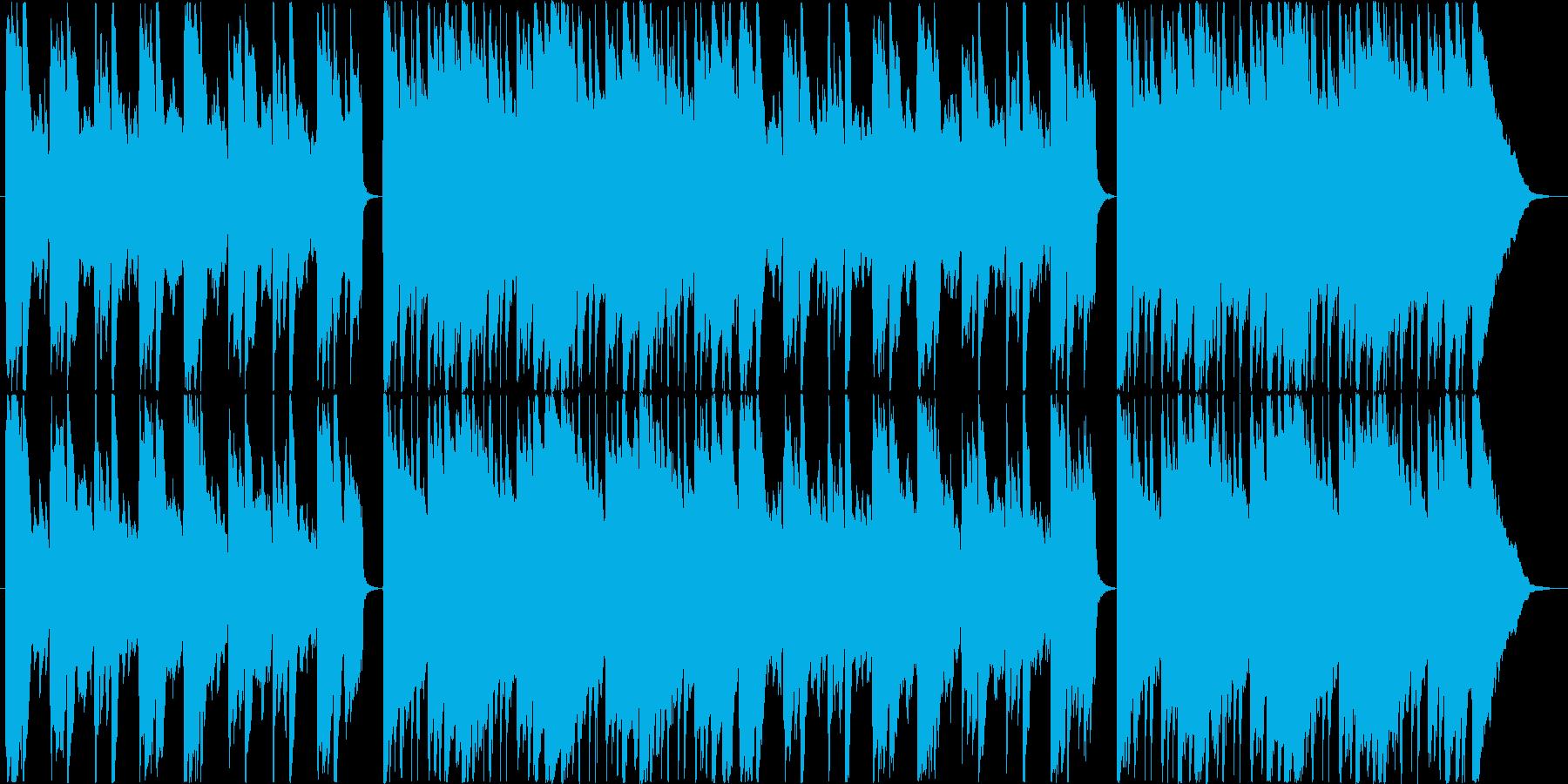 ピアノがメインの優しいアコースティックの再生済みの波形