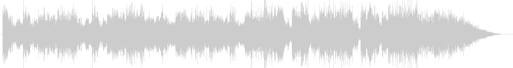 オーケストラ高級CM企業VPオープニングの未再生の波形