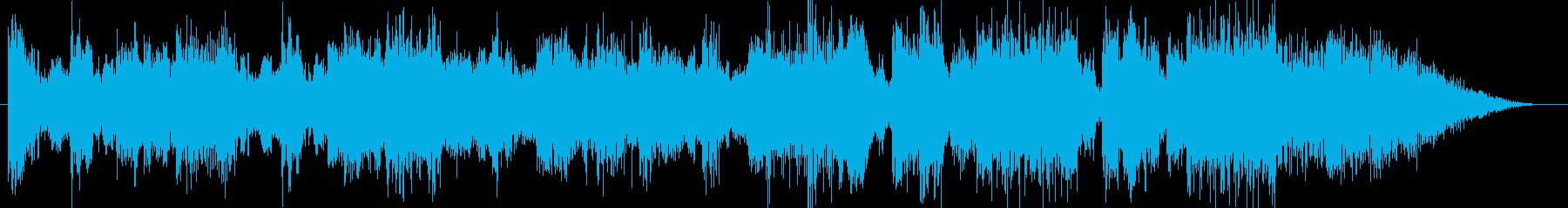 オーケストラ高級CM企業VPオープニングの再生済みの波形