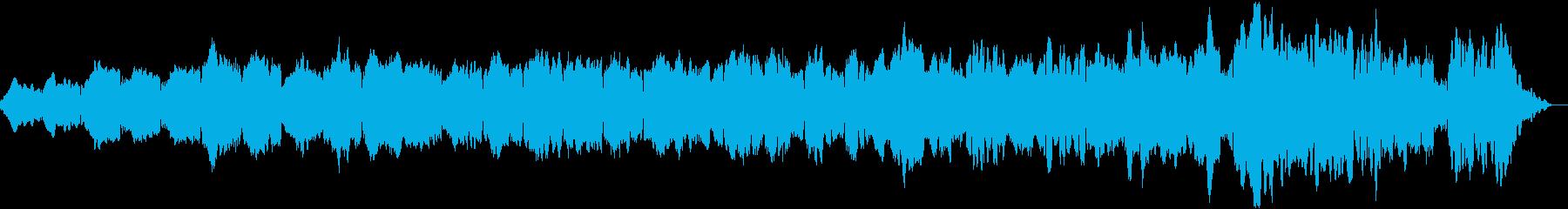 物語のオープニングにぴったりの曲の再生済みの波形
