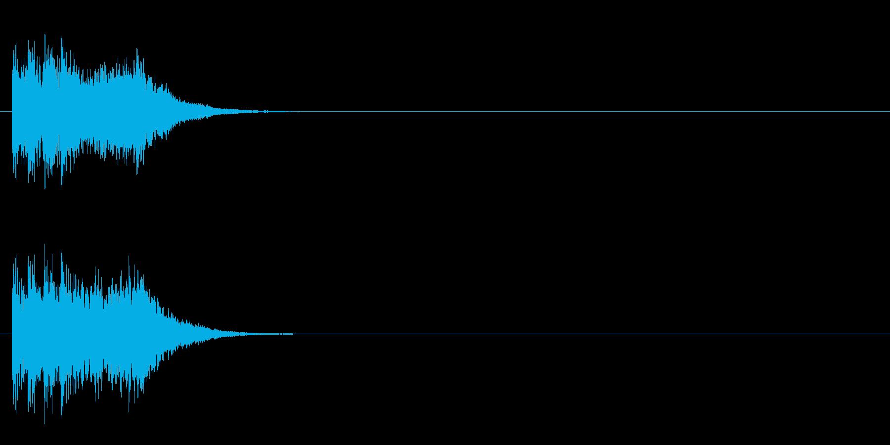 ジングル/SE(ほのぼの情報コーナー風)の再生済みの波形