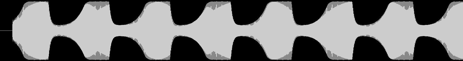 ゲームテキスト効果音A-8(高め 短い)の未再生の波形