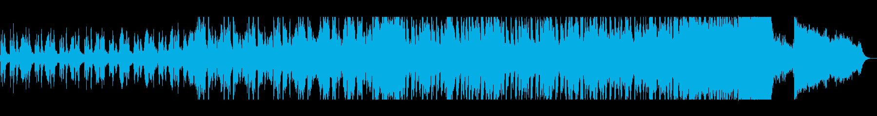 不安と希望混じりの壮大なシンセサイザー曲の再生済みの波形