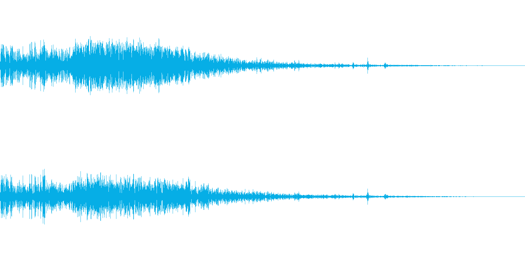 ぐちゃっ(ゲームオーバー)の再生済みの波形