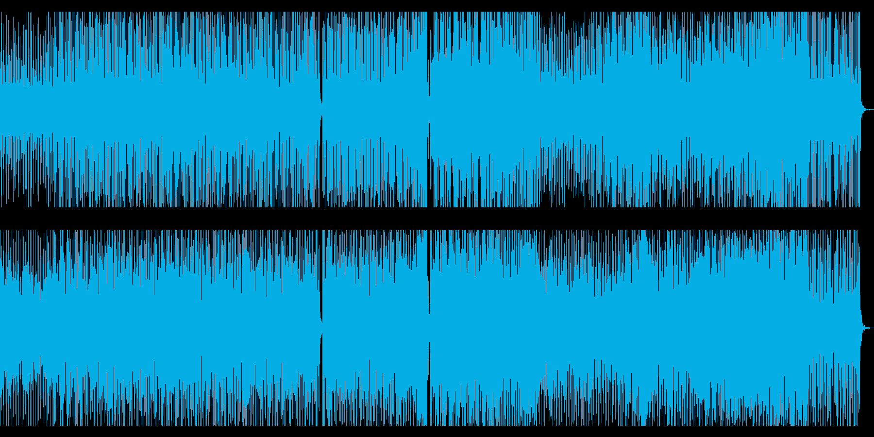 やや幻想的で進行感があるBGM の再生済みの波形
