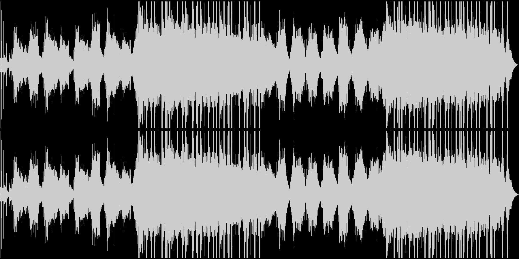滴の下たる幻想的な洞窟・切ない木管楽器の未再生の波形
