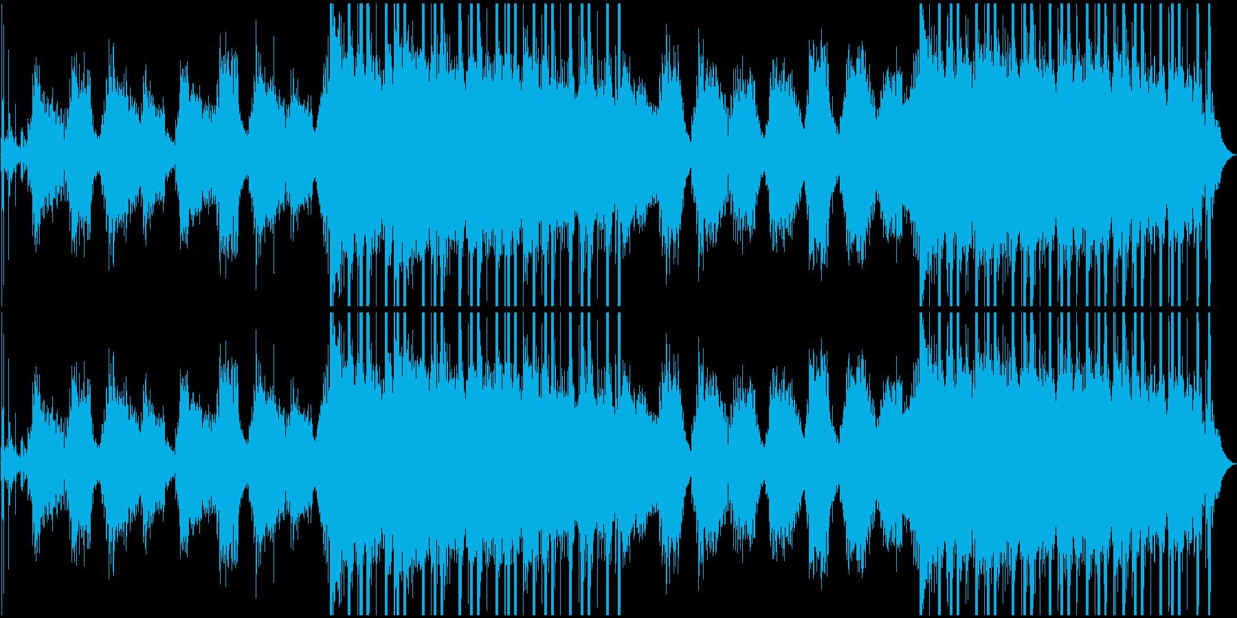 滴の下たる幻想的な洞窟・切ない木管楽器の再生済みの波形