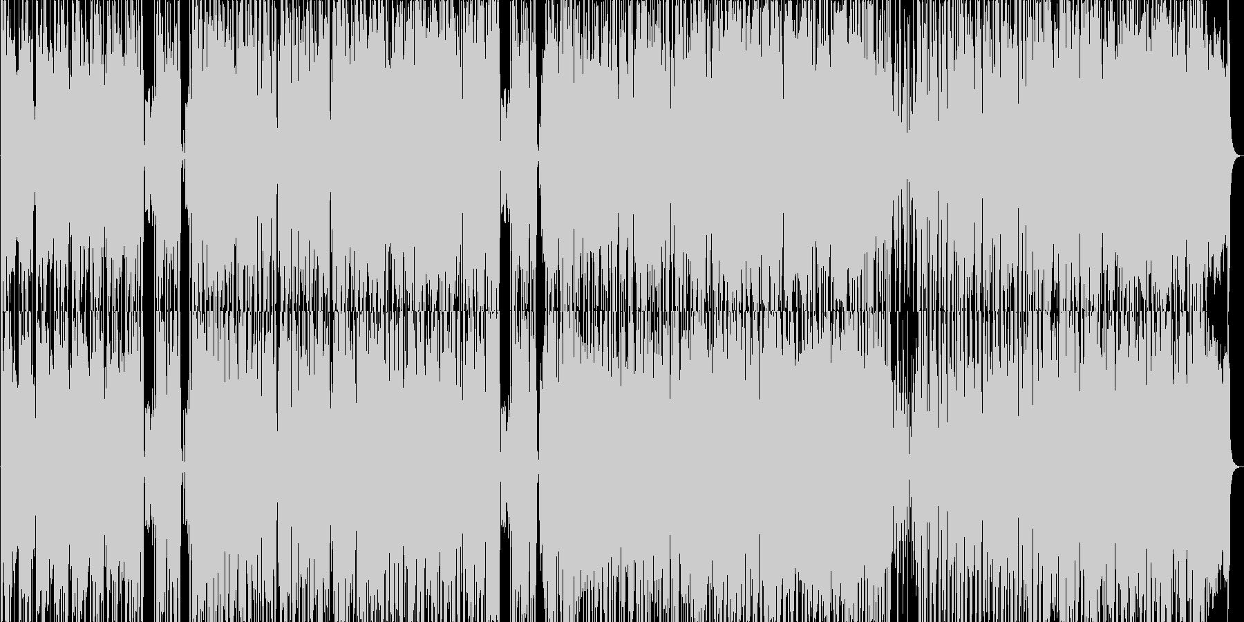 ファンキーな雰囲気のポップスの未再生の波形