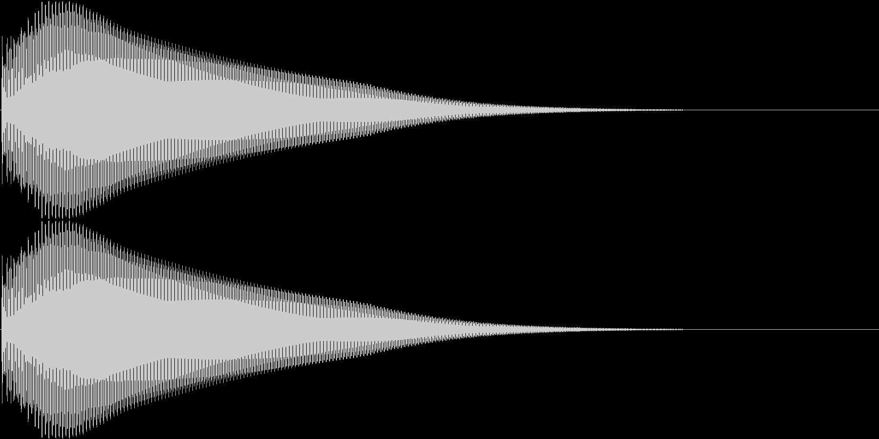 タン 高 (ボタン、スタート音)の未再生の波形