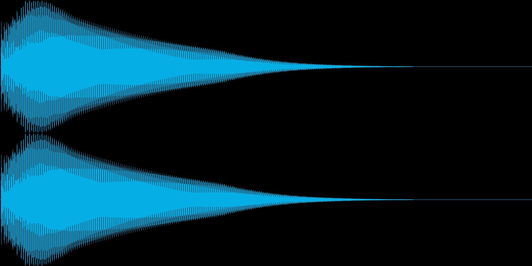 タン 高 (ボタン、スタート音)の再生済みの波形