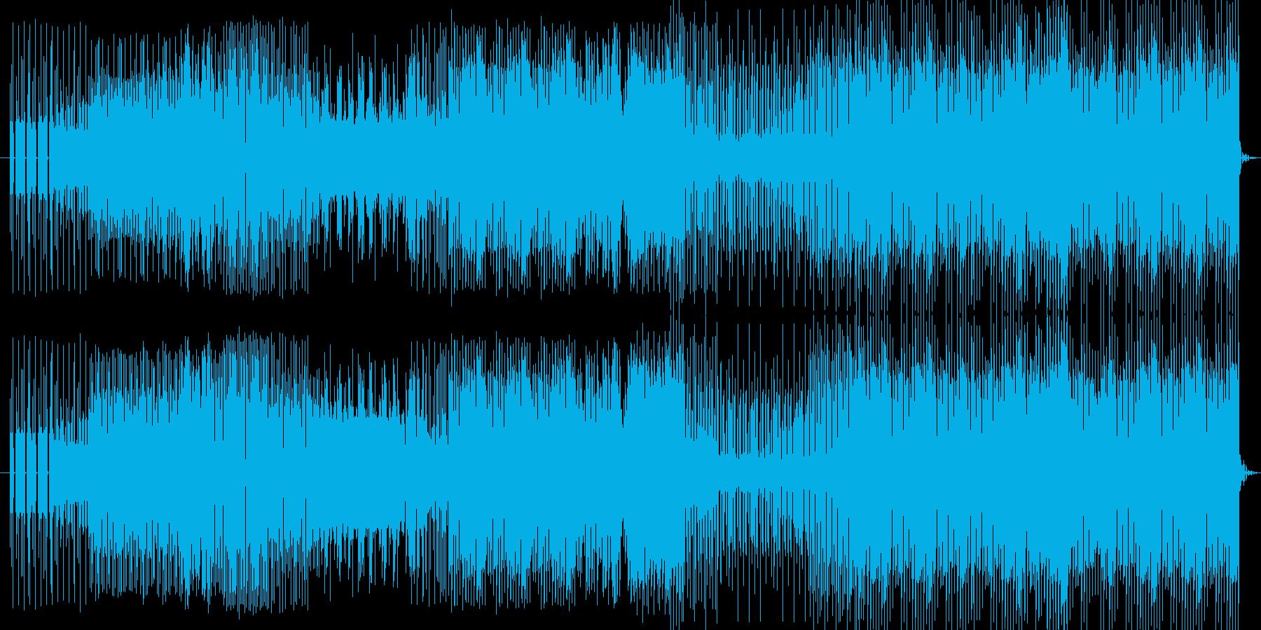ゲーム音楽ですの再生済みの波形