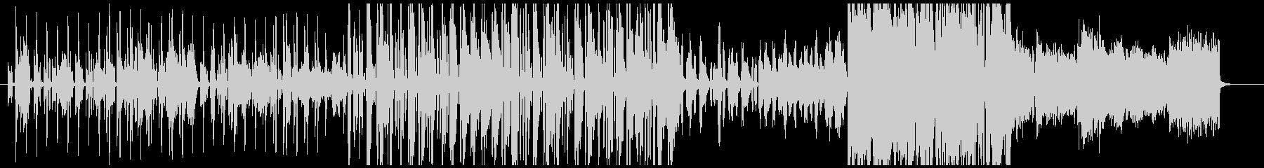 ほのぼのお洒落なオルガンによるボサノバの未再生の波形