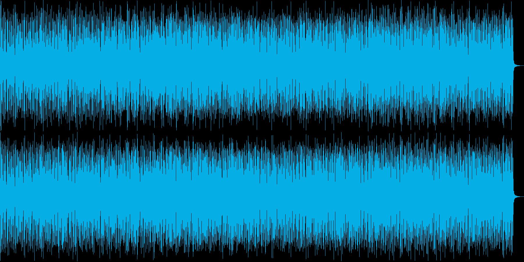 軽快でJazzyなピアノとストリングスの再生済みの波形