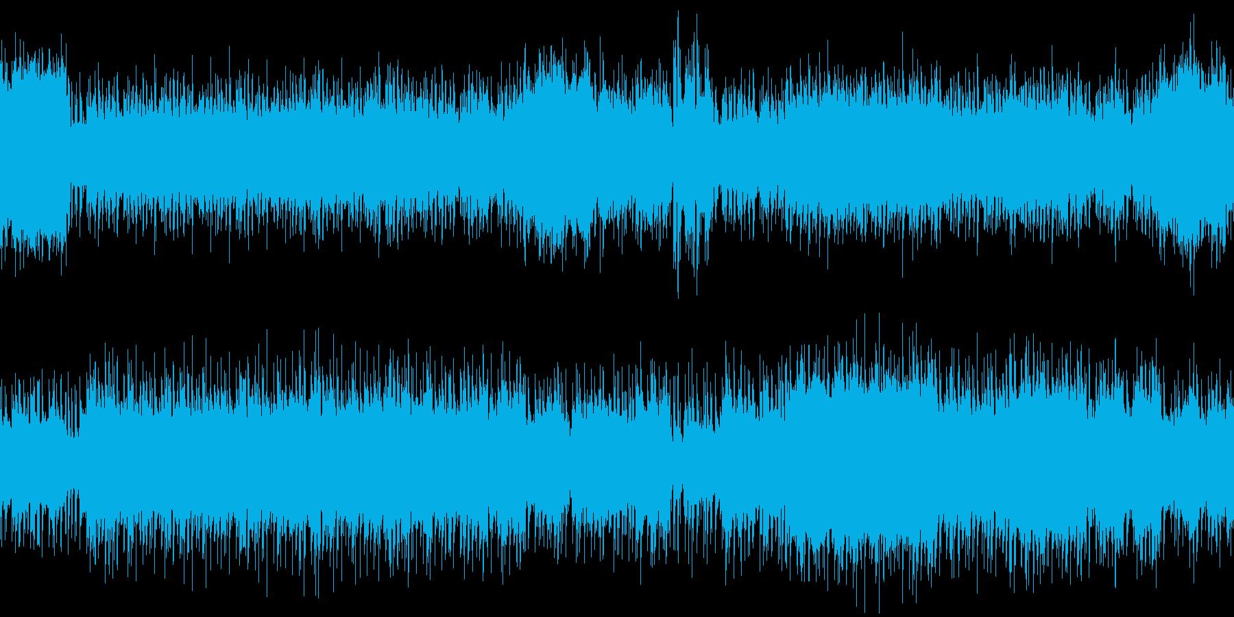 退廃的、ムードのある不安感重視のロックの再生済みの波形