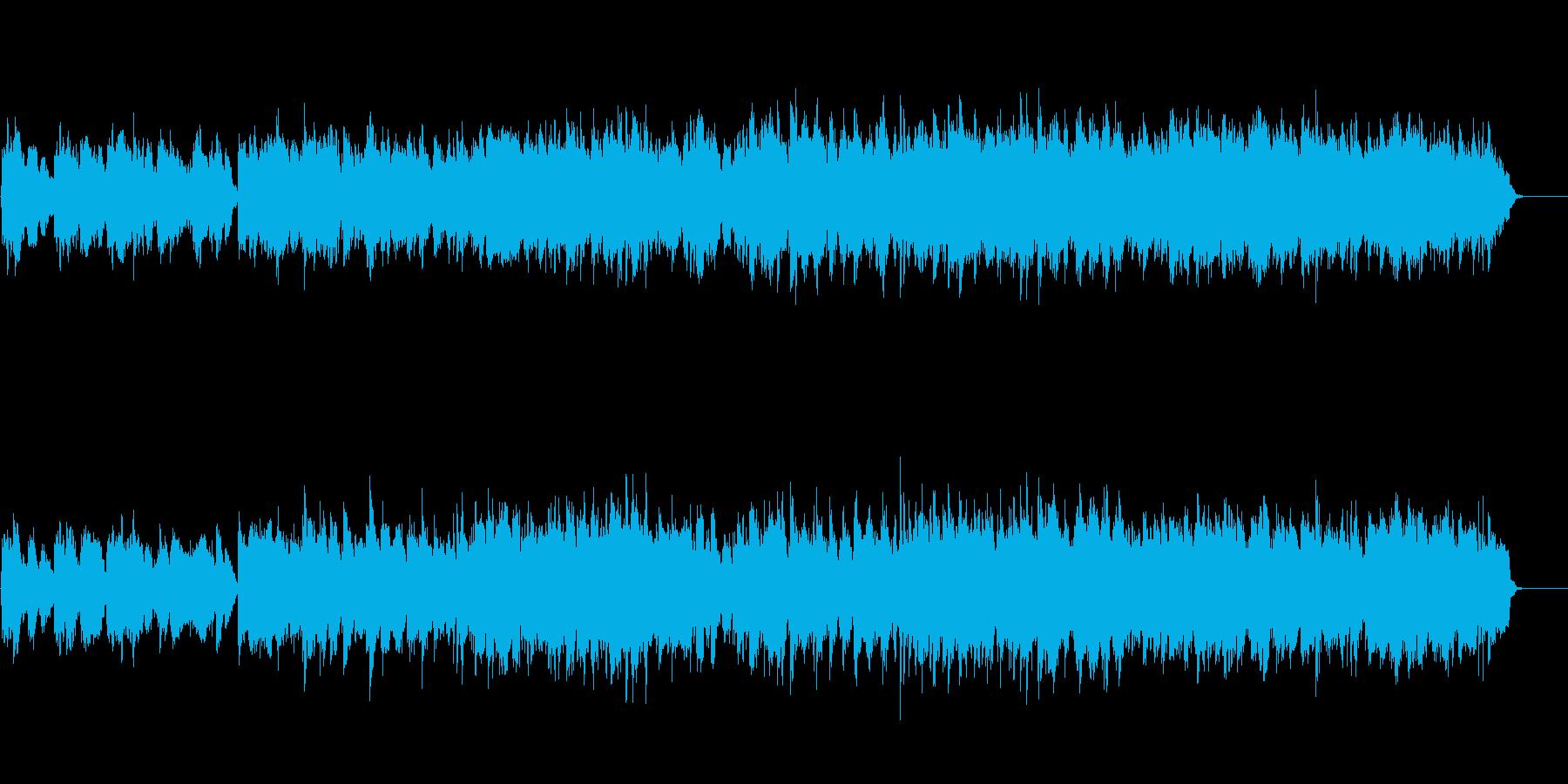 ニューエイジ(旅情風味)の再生済みの波形