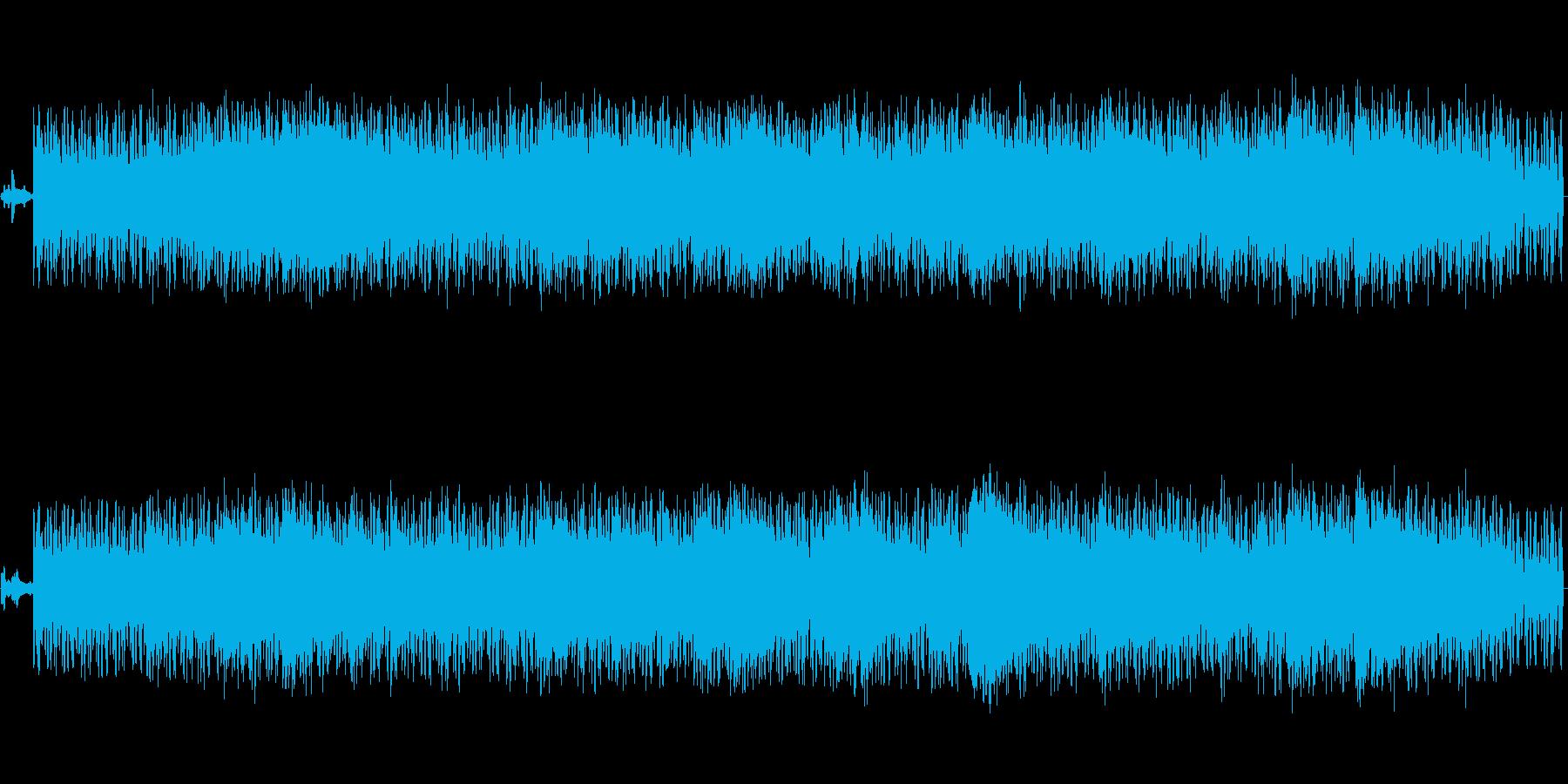 幻想的なアンビエントテクノの再生済みの波形