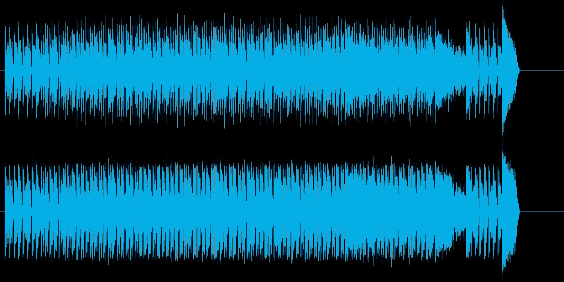 オープニング 登場 明るい わくわくの再生済みの波形
