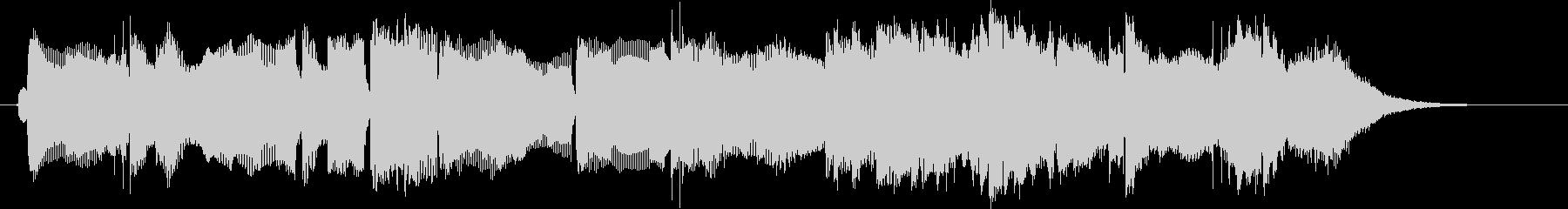 ゆったりと落ち着いたリラクゼーション音楽の未再生の波形