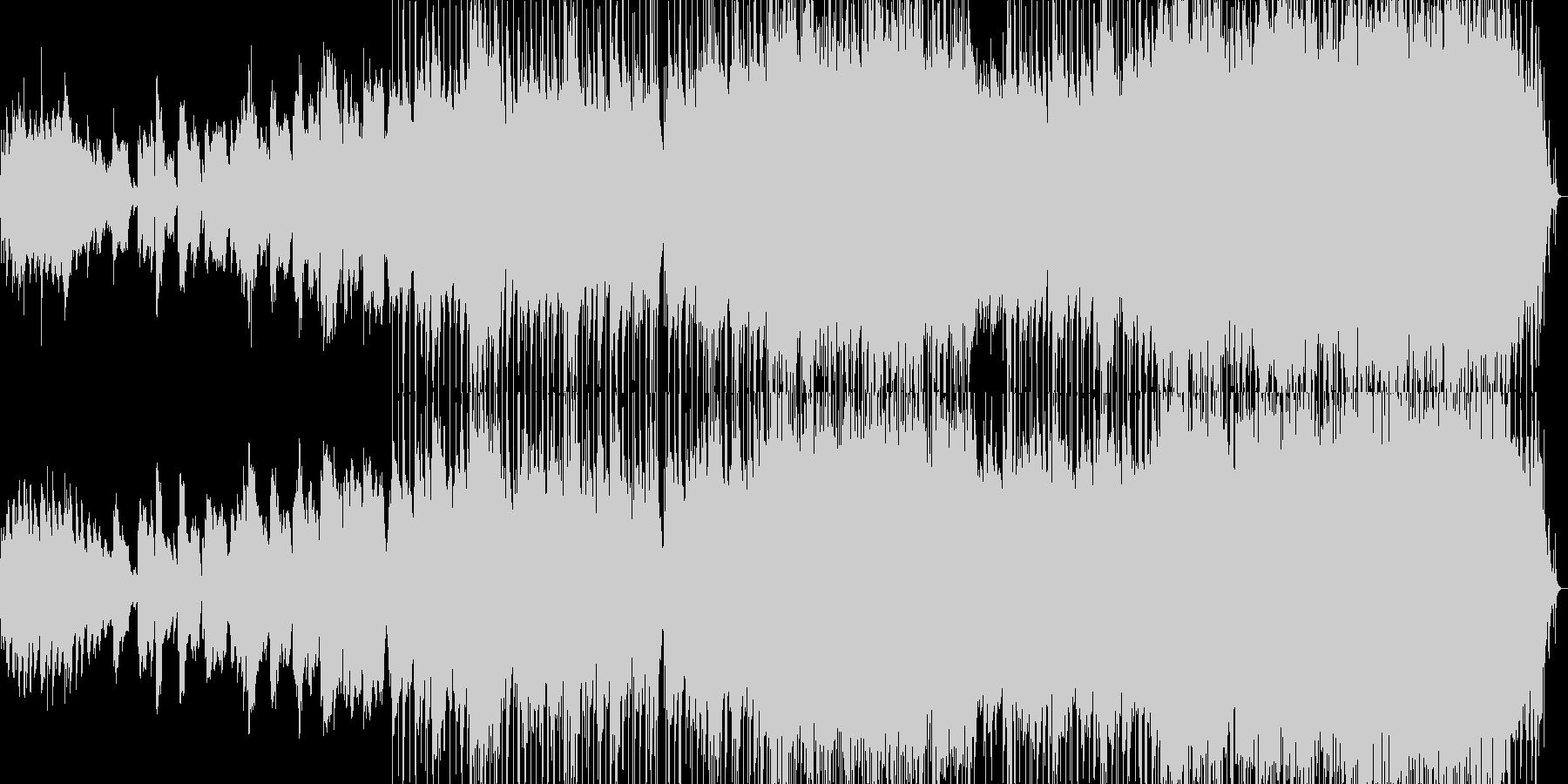 ハーモニカが印象的な希望的なバラードの未再生の波形