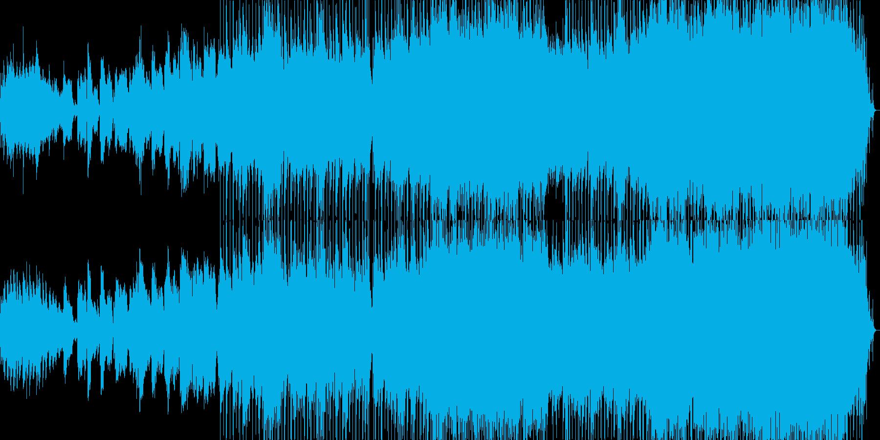 ハーモニカが印象的な希望的なバラードの再生済みの波形