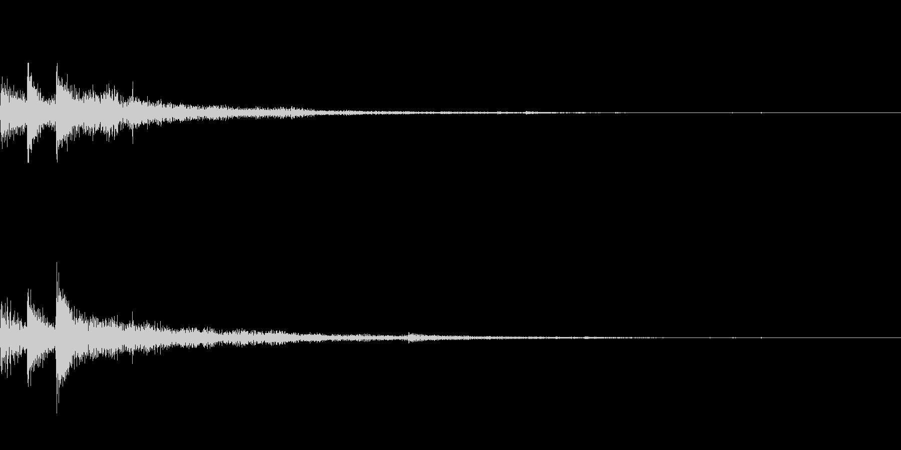 ぽろん♪(連鎖04)の未再生の波形