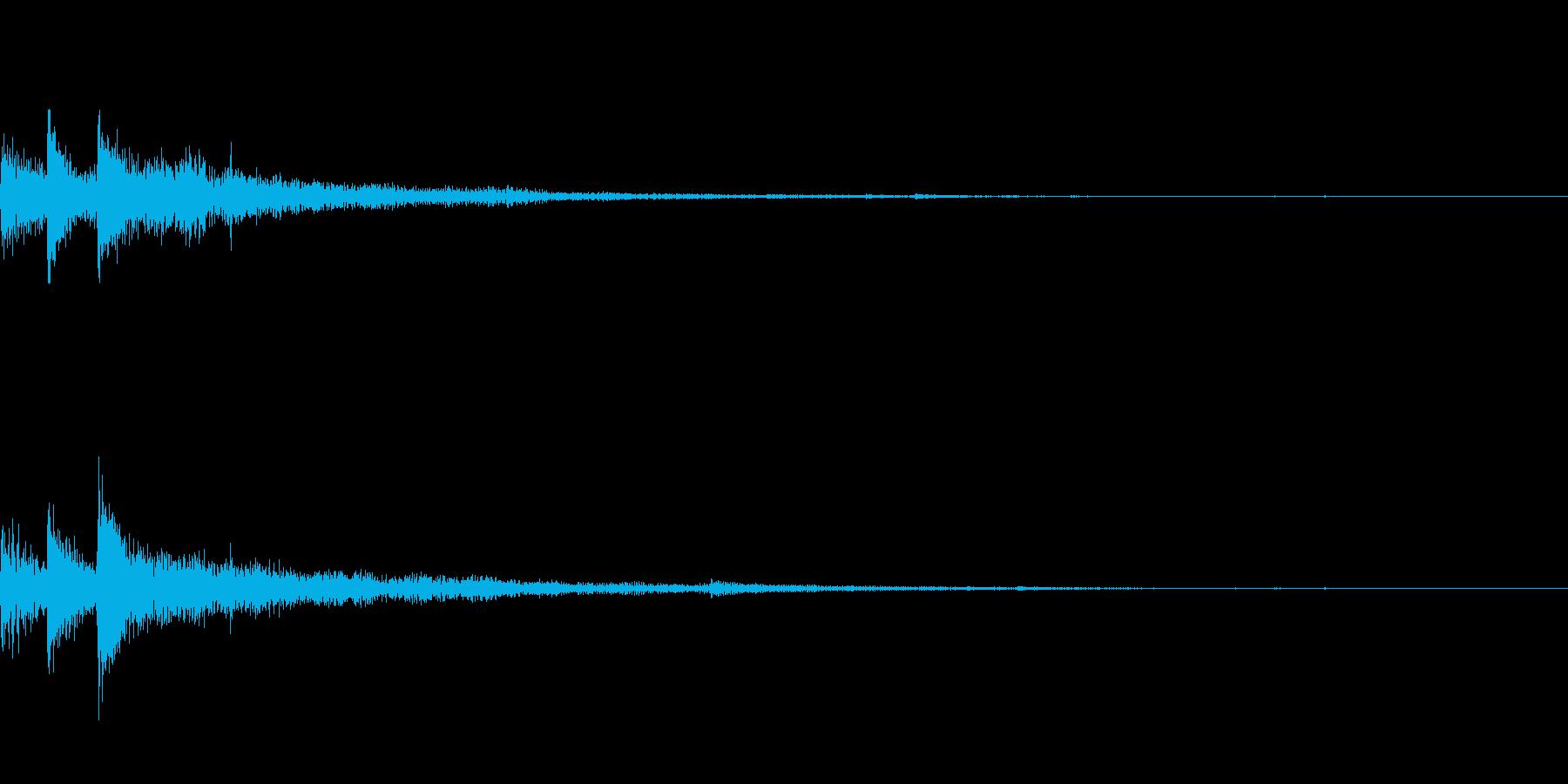 ぽろん♪(連鎖04)の再生済みの波形